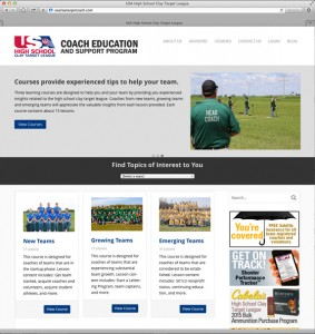 Visit the Coach Education and Support Program website!
